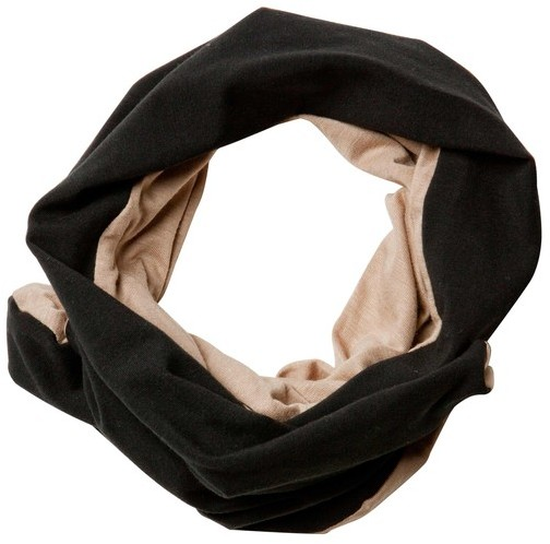 Selima Black and Beige Kai Turban