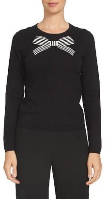 Women's Cece Bow Intarsia Sweater $79 thestylecure.com