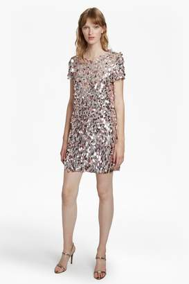 French Connenction Aimee Sequin Tunic Dress