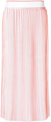 Victoria Victoria Beckham pleated midi skirt