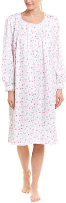 Eileen West Satin Nightgown