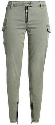 RtA Presley Cropped Stretch-Cotton Twill Skinny Pants