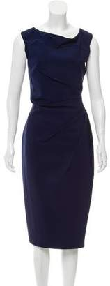 Chiara Boni Mid Pleat-Accented Dress