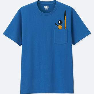 Uniqlo The Brands Short-sleeve Graphic T-Shirt (bic)