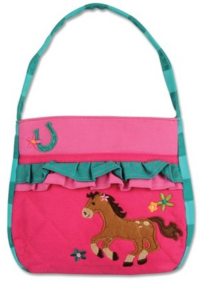 Stephen Joseph Quilted Purse, Horse