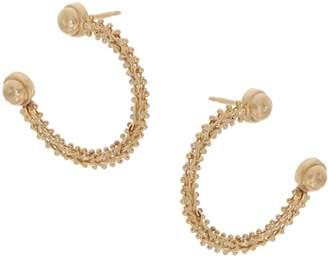Imperial Gold Journey Hoop Earrings, 14K Gold