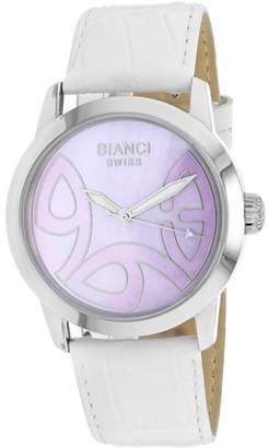 Roberto Bianci Women's RB18588 Casual Amadeus Analog Mother of Pearl Dial Watch