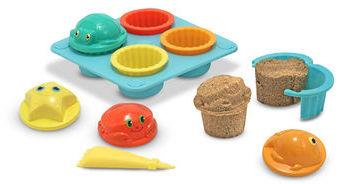 Carter's Melissa & Doug Seaside Sidekicks Sand Cupcake Set