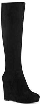 Women's Nine West 'Harvee' Wedge Boot $189.95 thestylecure.com