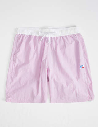 Russell Athletic Schwimmer Lavender Mens Volley Shorts