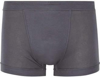 Secondskin Air Knit Cotton-Jersey Boxer Briefs