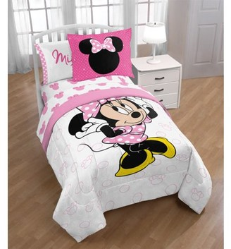 XOXO Disney Minnie Mouse 5 Piece Twin Bed in a Bag