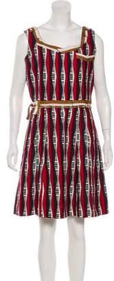 Undercover Silk Printed Sleeveless Mini Dress