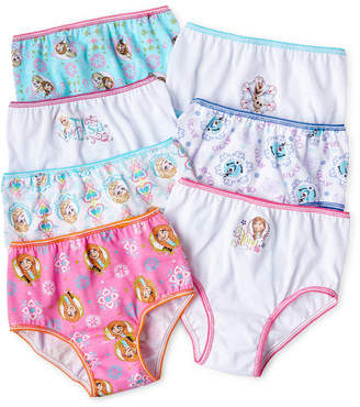 JCPenney FROZEN Disney Frozen 7-pk. Brief Panties