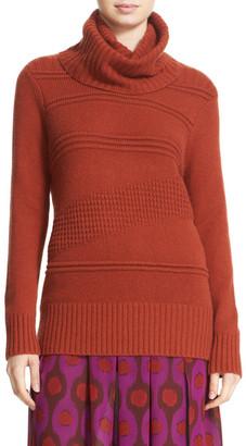 Diane von Furstenberg Talassa Wool & Cashmere Blend Turtleneck Sweater $328 thestylecure.com