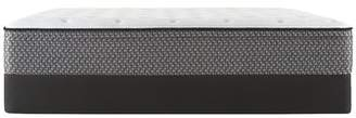 Sealy Essentials 11.5 Plush Euro Top Mattress with 5 Low Profile Foundation