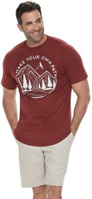 """Your Own Sonoma Goods For Life Big & Tall SONOMA Goods for Life """"Make Path"""" Graphic Tee"""