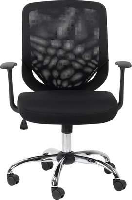Alphason Atlanta Mesh Back Office Chair - Black