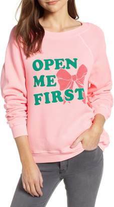 Wildfox Couture Open Me First Sommers Sweatshirt