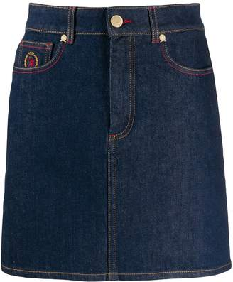 Tommy Hilfiger short denim skirt