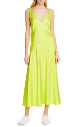 Polo Ralph Lauren Sleeveless Satin Maxi Dress