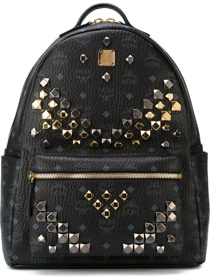 mcm studded 39 stark 39 backpack shopstyle. Black Bedroom Furniture Sets. Home Design Ideas