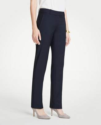 Ann Taylor The Tall Straight Leg Pant In Tropical Wool - Curvy Fit