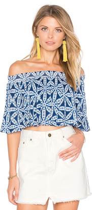 Show Me Your Mumu Sasha Swing Top $96 thestylecure.com
