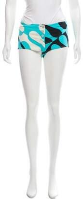 Emilio Pucci Mid-Rise Mini Shorts