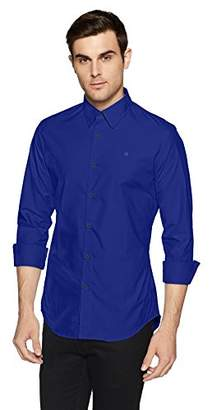 G Star Men's Core Long Sleeve Button Down Shirt