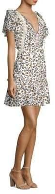 Sea Kayle Crochet-Trimmed Dress