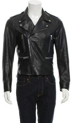 Gucci Leather Moto Jacket