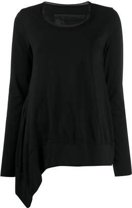 Rundholz Black Label mesh collar T-shirt