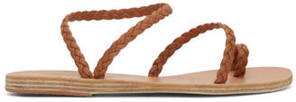 Ancient Greek Sandals Brown Eleftheria Sandals