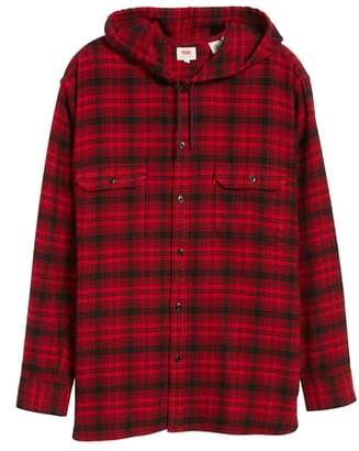 Levi's x Justin Timberlake Hooded Flannel Worker Shirt