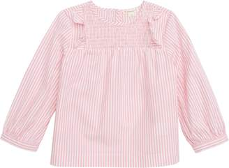 J.Crew crewcuts by Candy Stripe Smocked Top