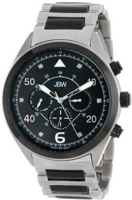 JBW Men's J6283B Multi-Function 6 Diamonds Metal Watch