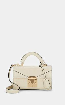 Stalvey Women's Top-Handle 2.0 Mini Alligator Satchel - Bone