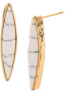 Gorjana Palisades Marquise Stud Earrings