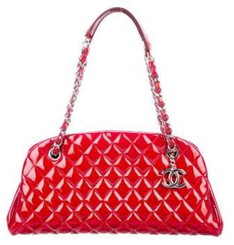 Chanel Small Just Mademoiselle Bowler Bag Red Small Just Mademoiselle Bowler Bag