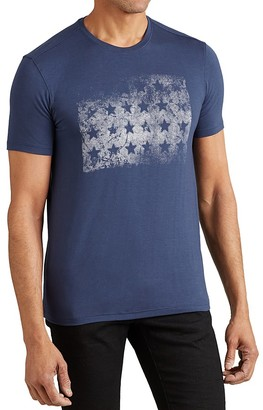 John Varvatos Star USA Block of Stars Graphic Tee $68 thestylecure.com