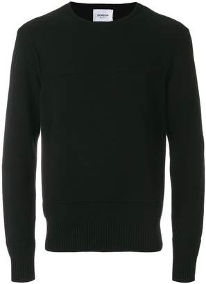 Dondup ribbed panel sweater