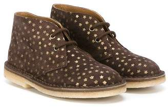 Pépé star print desert boots