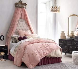 5440f410df Pottery Barn Kids The Emily & Merritt Cotton Tulle Bed Skirt, Twin, Blush