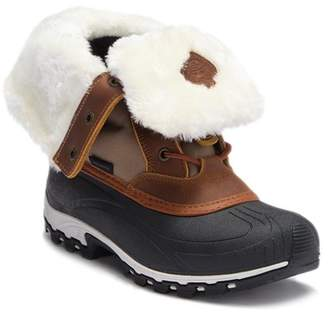 Kamik Harper Faux Fur Folded Cuff Boot