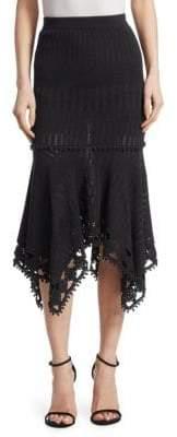 Jonathan Simkhai Crochet Midi Skirt