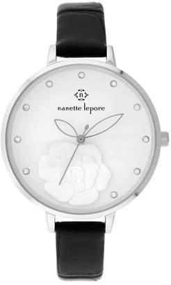Nanette Lepore NANETTE Women's Quartz Embossed Strap Watch, 38mm