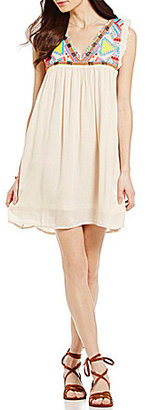 O'Neill Cove Emboridered and Beaded Swing Dress $64 thestylecure.com