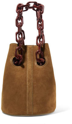 BEIGE Trademark - Goodall Suede Bucket Bag - Brown