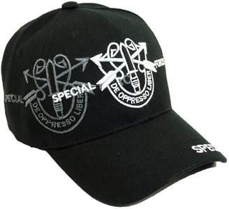 f11ff3db161 Bingoo U.S. Military Official Licensed Embroidery Hat Army Navy Veteran Baseball  Cap